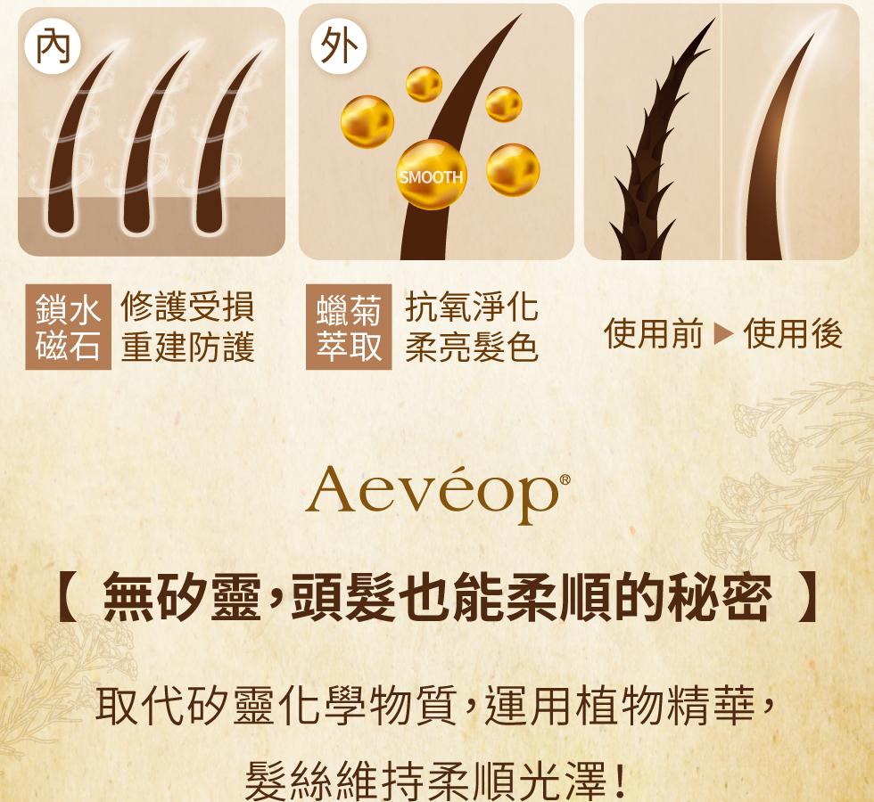 Aeveop 修護洗髮精 櫻桃花 無矽靈