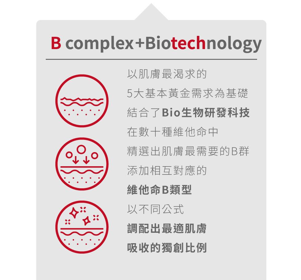 薇佳抗痘調理精華 vitabtech BIO生物研發科技 維他命B類型